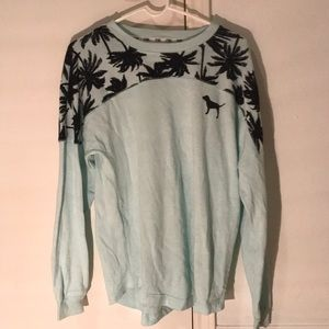 Turquoise PINK long sleeve